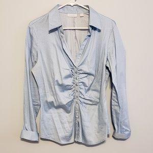 New York & Company Stretch Button Down Shirt